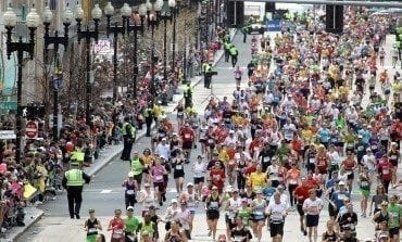 Editor's Corner At The Boston Marathon