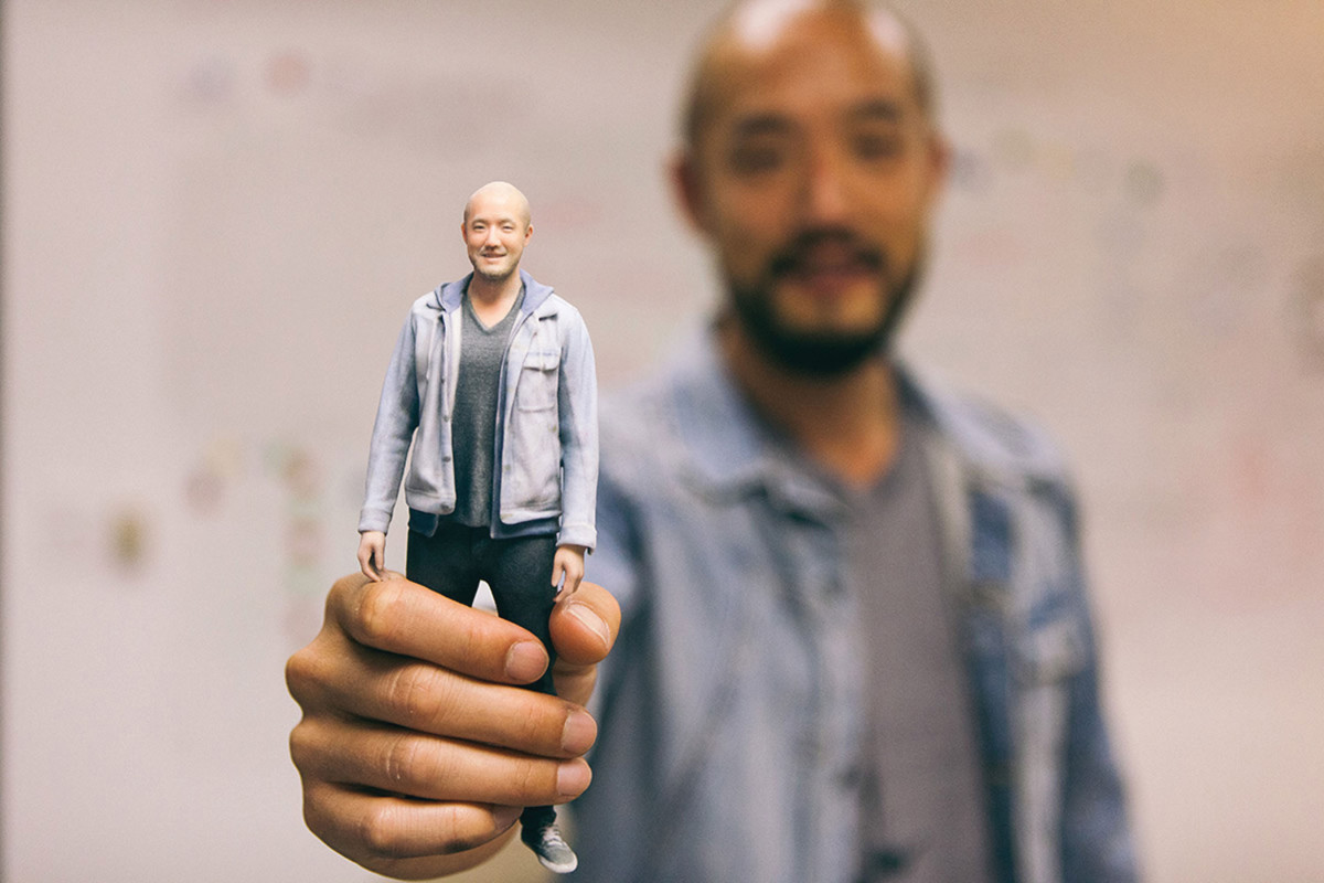 Next Level Selfies: 3D Printing