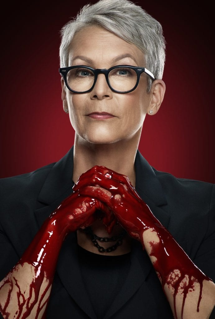 SCREAM QUEENS: Jamie Lee Curtis as Dean Cathy Munsch in SCREAM QUEENS which debuts with a special, two-hour series premiere event on Tuesday, Sept. 22 (8:00-10:00 PM ET/PT) on FOX. ©2015 Fox Broadcasting Co. Cr: Jill Greenberg/FOX.