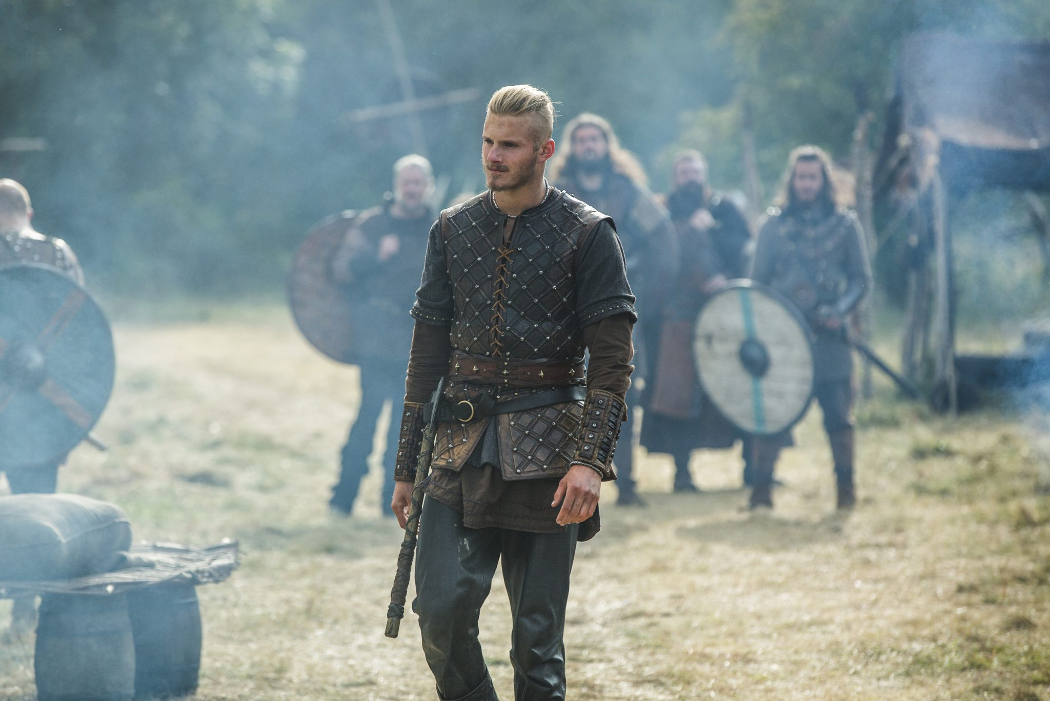 Star of History's Vikings Alexander Ludwig Talks Sports