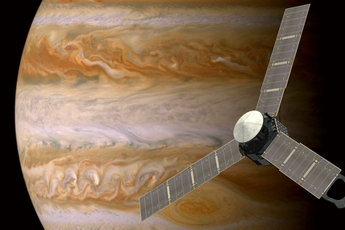 Juno Probe Enters Orbit