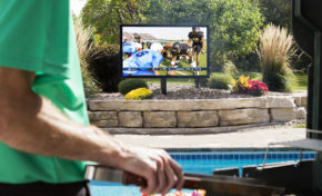 Outdoor Living from TVs to Barbecue Pits Summer is Coming