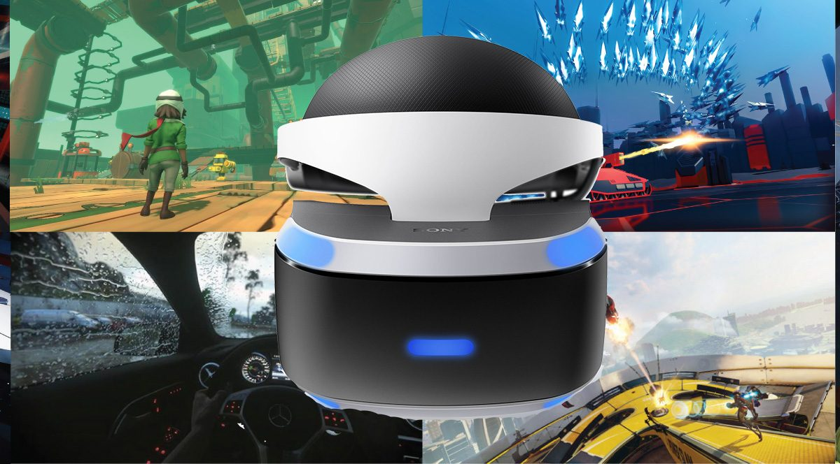 What's on PlayStation VR's demo disc