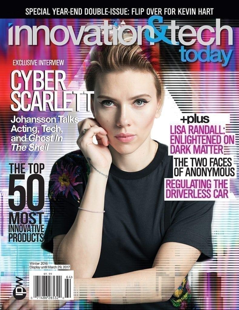 Ghost in the Shell, Scarlett Johansson, Innovation & Tech Today