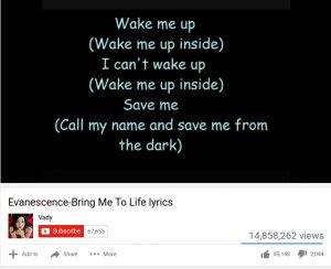 youtube, lyrics, video