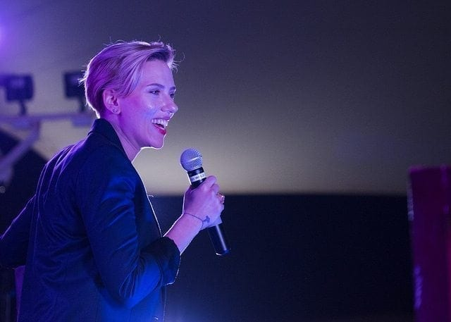 Scarlett Johansson Talks Tech And Her Favorite Movie Robot