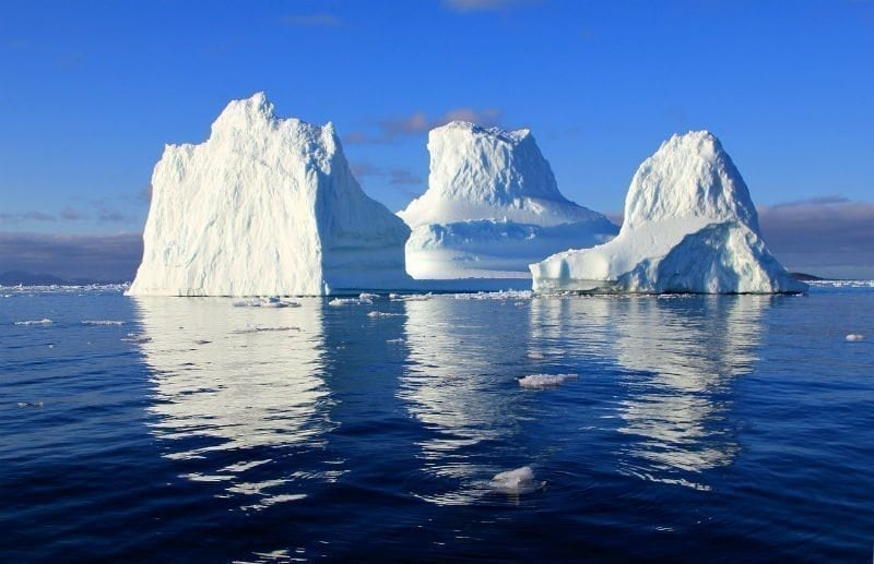 Trillion Ton Iceberg Breaks off of Antartica Ice Shelf