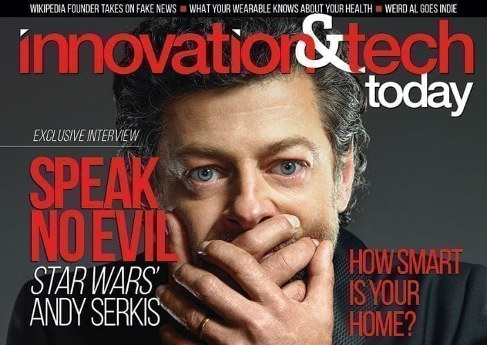 Andy Serkis, AKA Supreme Leader Snoke, Does Cover Feature Ahead of 'Last Jedi'