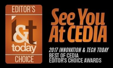 Introducing The 2017 CEDIA Editor's Choice Awards