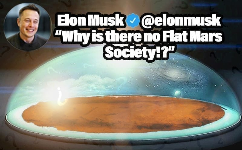 Elon Musk Just Tweeted About Flat Earthers. When Will It End?
