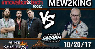 Watch Us Take On Pro-Level Smash Player Mew2King
