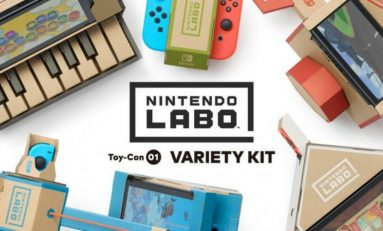 Nintendo Announces Labo, The DIY Cardboard Kits for the Nintendo Switch
