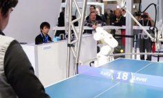Human vs. Ping-Pong Robot!