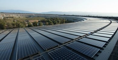 Apple Becomes Leader in Renewable Energy