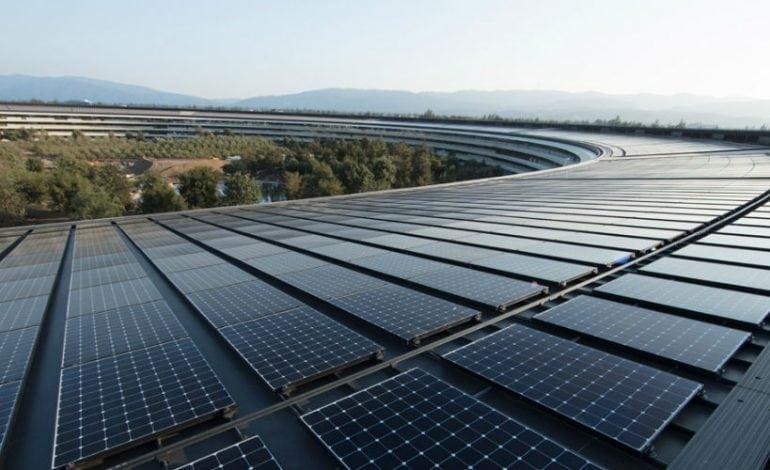 Apple Becomes Leader in Renewable Energy