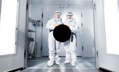 """Vantablack The """"Invisible"""" Material Helps Self-Driving Cars See"""