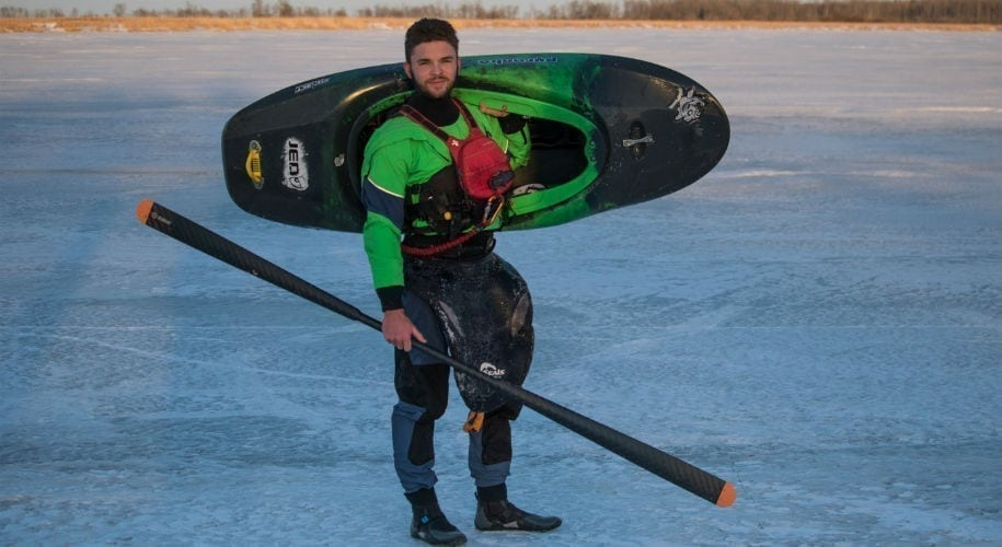Solo Kayaker Alex Martin is Paddling for a Purpose