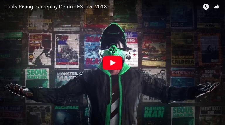 Trials Rising Gameplay Demo E3 2018