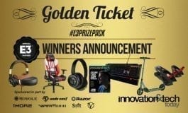 Announcing The Winners of our E3 2018 Golden Ticket Prize Pack Giveaway