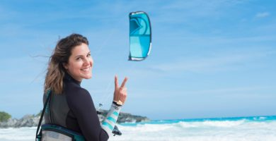 Pro Kiteboarder Sensi Graves on Sustainability and Staying Active