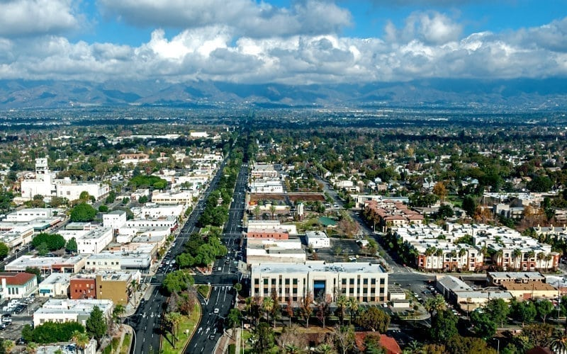 ontario california a business mecca and the first connected