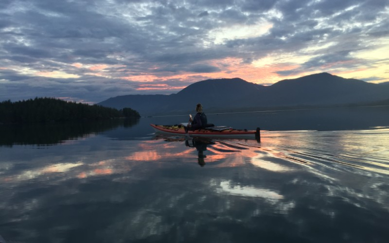 How Two Kayakers Braved Alaska's Inside Passage