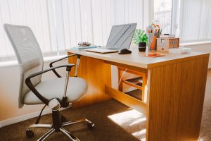 Ergonomically-designed office chairs boost productivity and focus by maintaining employee comfort.