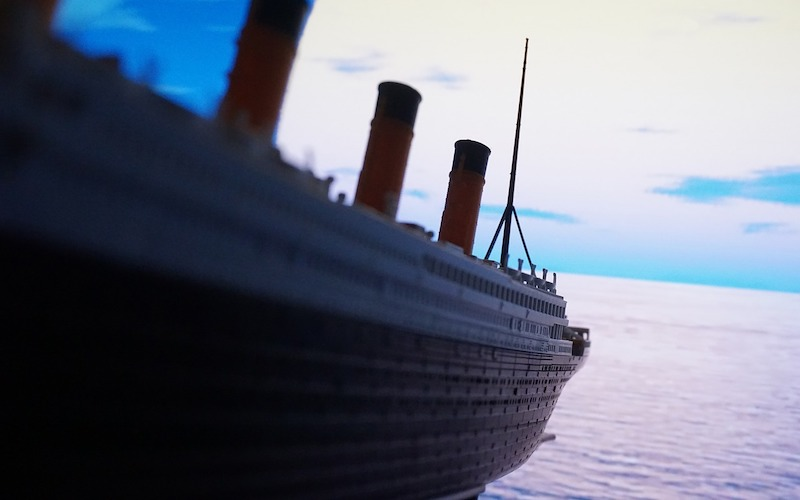Why is the Titanic Disintegrating?