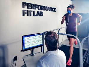 Boa's Performance Fit Lab includes a motion capture space, a metabolic cart, 4 floor-mounted force plates, an indoor hiking path, and an instrumented bike and treadmill.