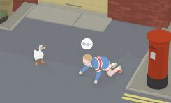 Untitled Goose Game Review: Annoying People Is Fun!