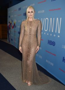 "BEVERLY HILLS, CA - NOVEMBER 07: Lindsey Vonn attends the premiere of HBO's ""Lindsey Vonn: The Final Season"" at Writers Guild Theater on November 07, 2019 in Beverly Hills, California. (Photo by FilmMagic/FilmMagic for HBO )"