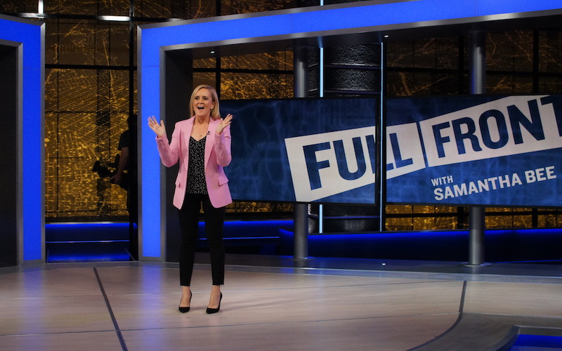 Full Frontal Host Samantha Bee's Mission to Save the World, One Joke at a Time