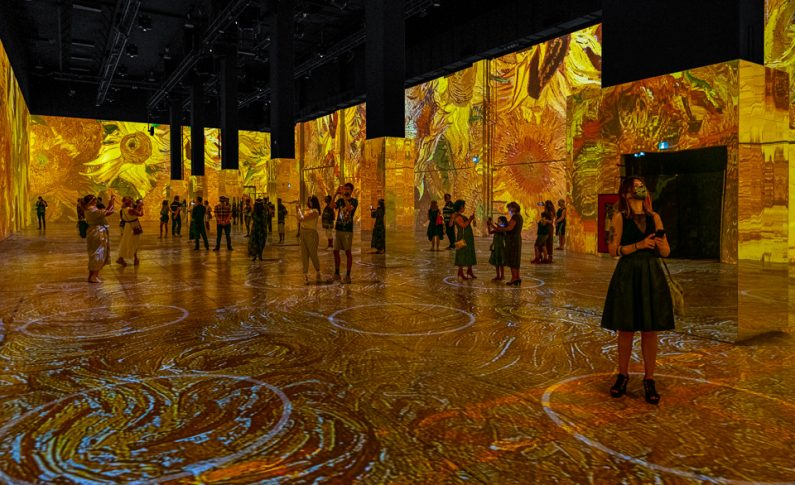 Immersive Van Gogh Exhibit in Toronto Offers Unique Drive-In Experience
