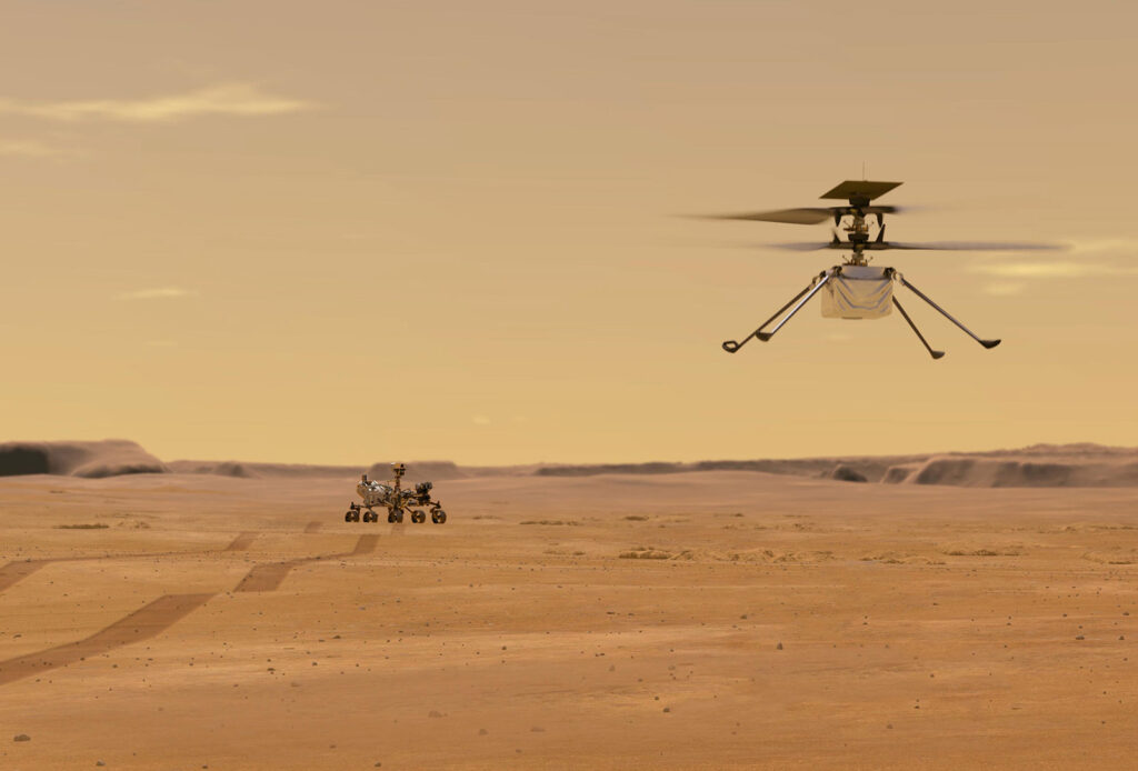 NASA Mars Ingenuity Chopper 1