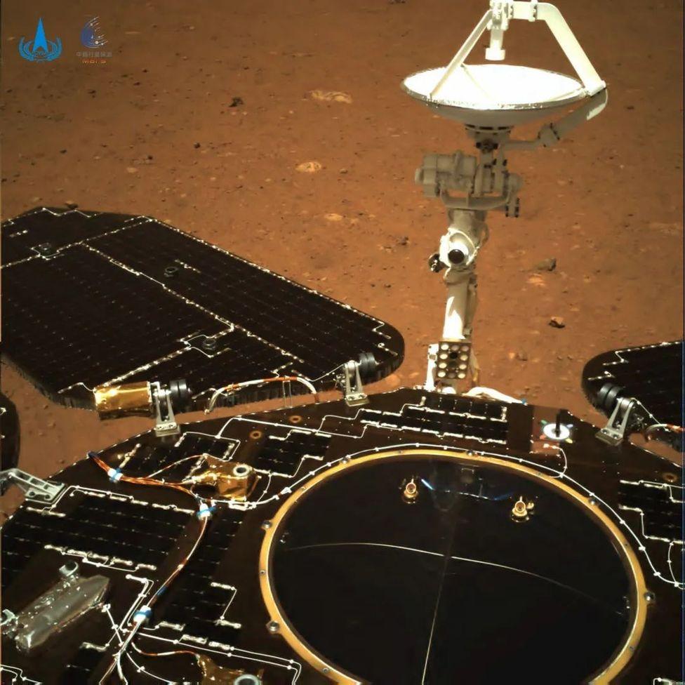 China Mars Zhurong Rover 2