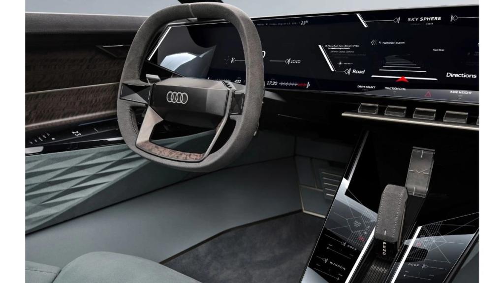 Audi skysphere concept car